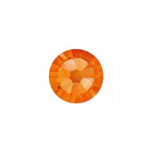Swarovski   SS10  méretű narancs kerek kristály 100db