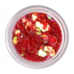 Hologrammos lap - piros