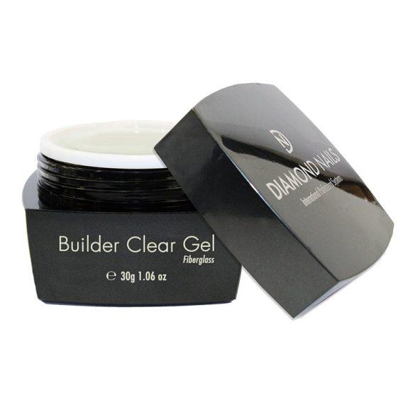 Builder Clear Üvegszálas Gel 30g