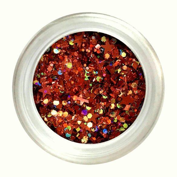 Mix csillámpor #11 - piros