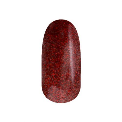 Gél Lakk 4ml -DN104 - Csillámló karácsony piros - Zselé lakk