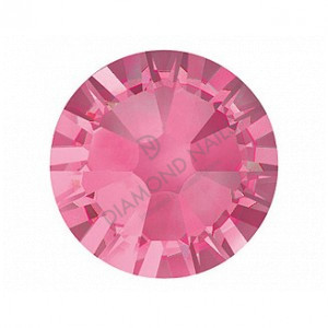 Swarovski SS10 méretű s.rózsaszín kerek kristály 100db