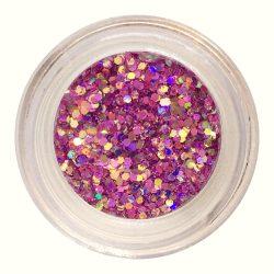 Metál Mix csillámpor #19 - rózsaszín