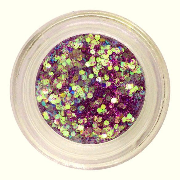 Metál Mix csillámpor #20 - lila