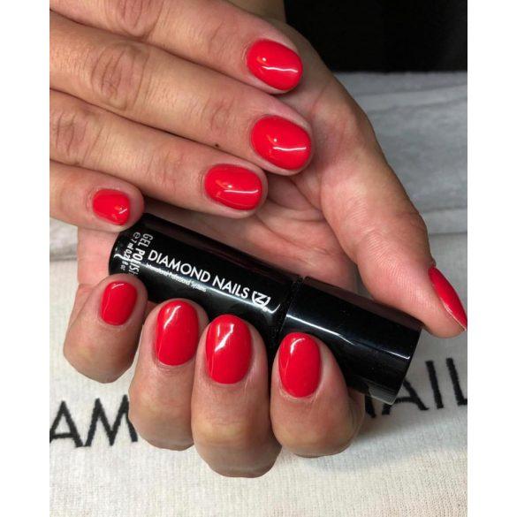 Gél Lakk 4ml -DN079 - Narancsos piros  - Zselé lakk
