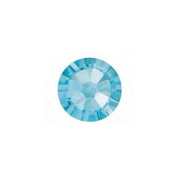 Swarovski aquamarine kerek kristály SS5 100db