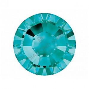 Swarovski v.türkiz kerek kristály SS5 100db