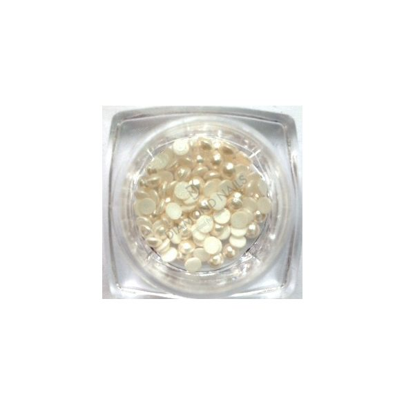 Swarovski fehér gyöngy 100db