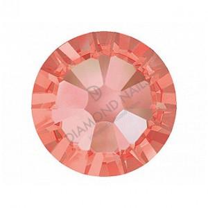 Swarovski SS10 méretű rose peach kristály 100db
