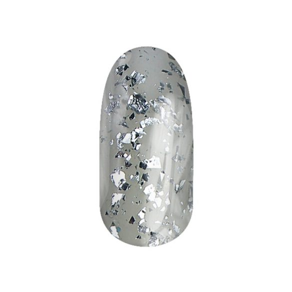 Gél Lakk - DN111 - Ezüst reszelék - Zselé lakk