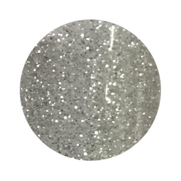 Ezüst színes zselé csillámos 137