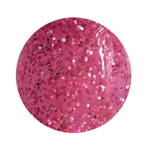Sötét rózsaszín színes zselé csillámos 140