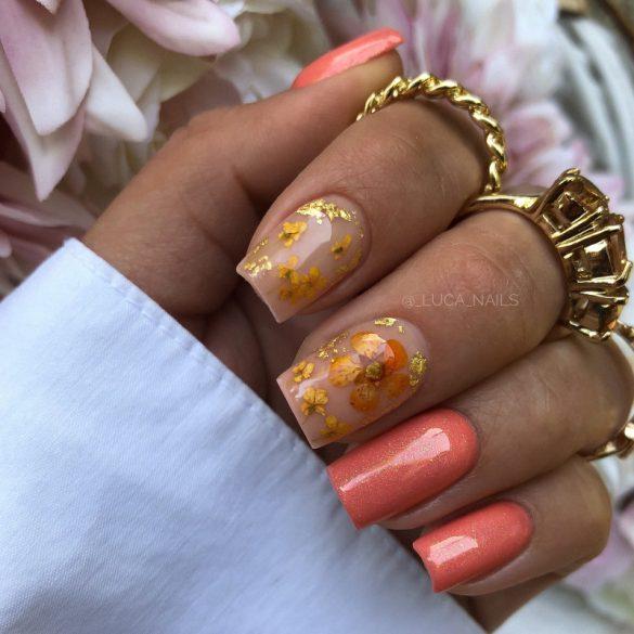 Gél Lakk - DN138 - Csillámos rosé - Zselé lakk
