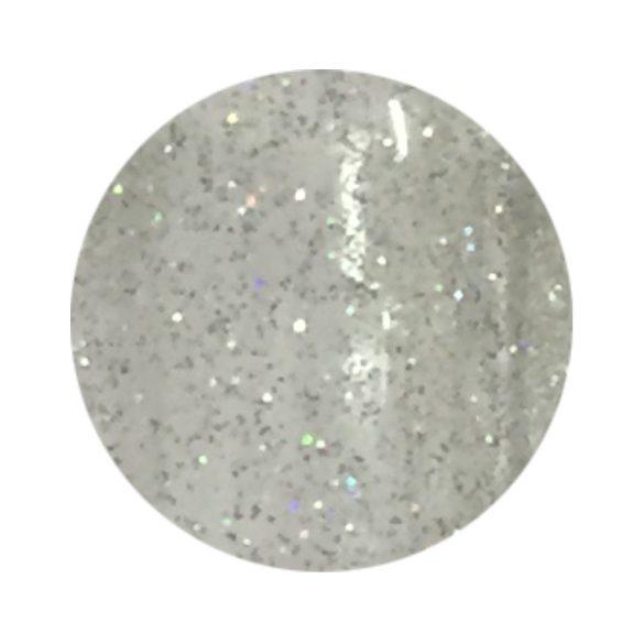 Ezüst színjátszós színes zselé csillámos 161