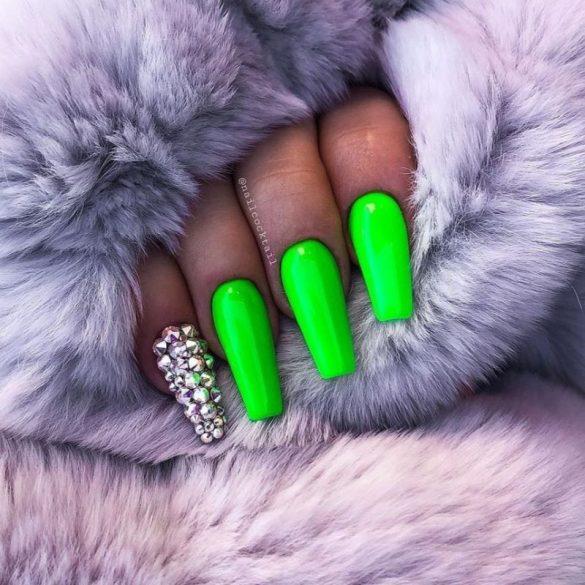 Gél Lakk 4ml -DN153 - Neon zöld - Zselé lakk