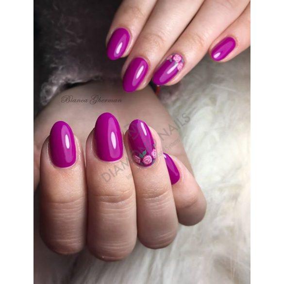 Gél Lakk - DN154 - Neon lila - Zselé lakk