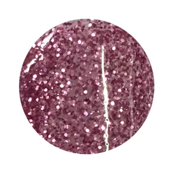 Mályva színes zselé csillámos 138