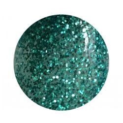Zöld színes zselé csillámos 144