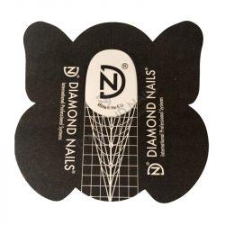 Sablonpapír DN fekete-fehér- STILETTO 30db