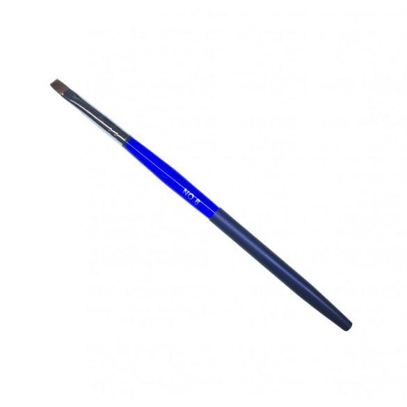 Zselés 6-os fémtokos ecset kék nyéllel