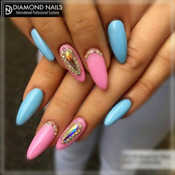 Gél Lakk 4ml - DN188 - Gavallér kék - Zselé lakk