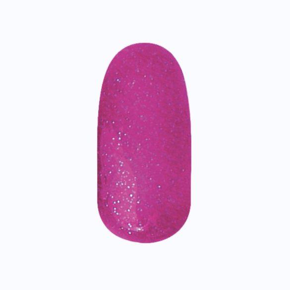 Gél Lakk - DN195 - Csillámló neon lila - Zselé lakk