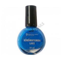 Körömnyomda Lakk - Kék - 05