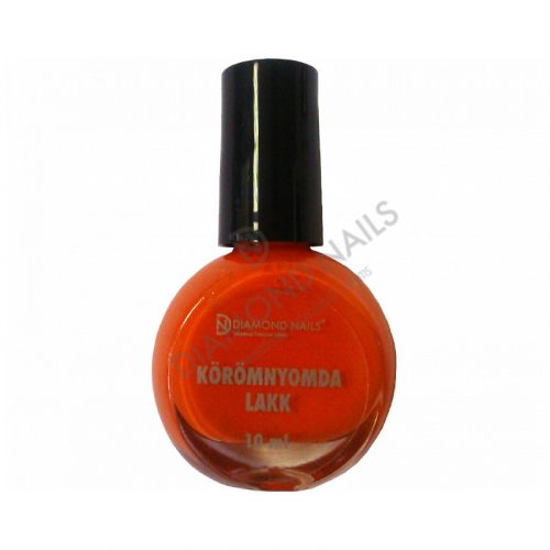 Körömnyomda Lakk - Narancs - 18