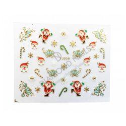 Karácsonyi Körömdíszítő matrica - TJ-056
