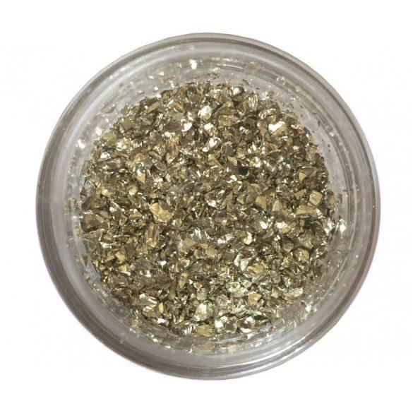 Körömdíszítő dara - Ezüst