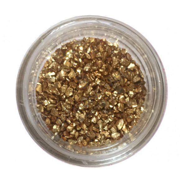 Körömdíszítő dara - Arany