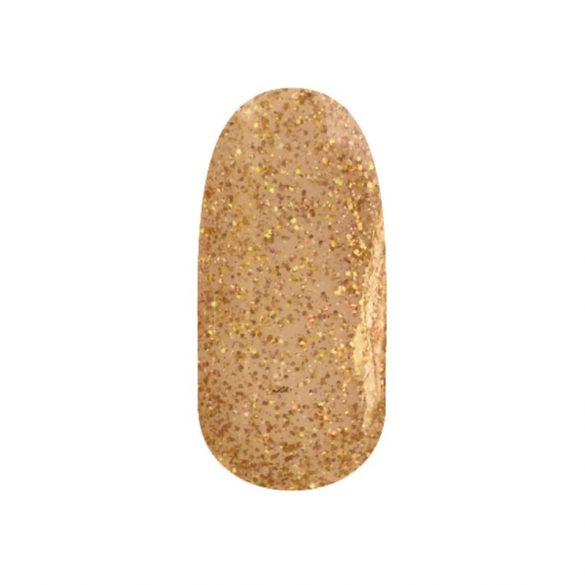 Gél Lakk 4ml -DN117 - Csillámló arany hologram - Zselé lakk