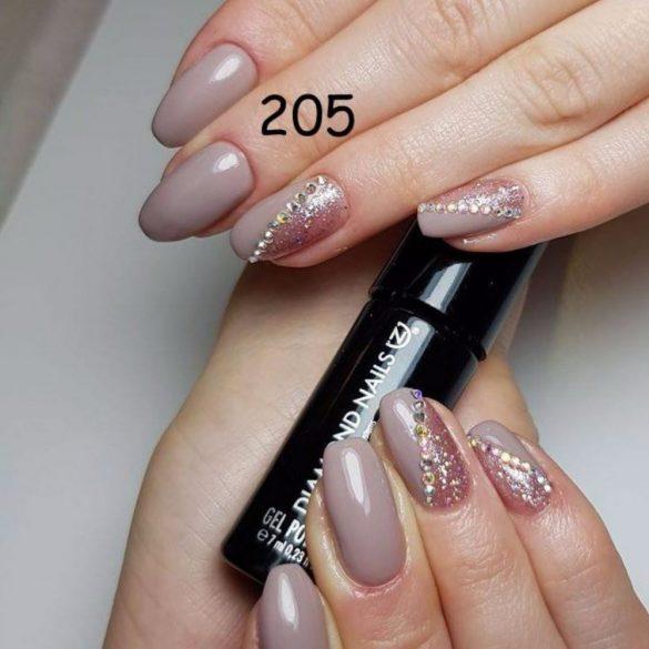 Gél Lakk - DN205 - Taupe Grey - Zselé lakk