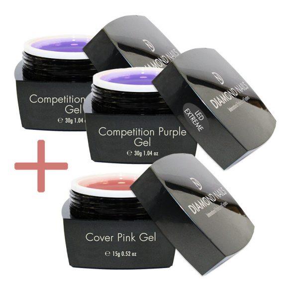 Extreme LED Competition Purple Gel Ajándékkal