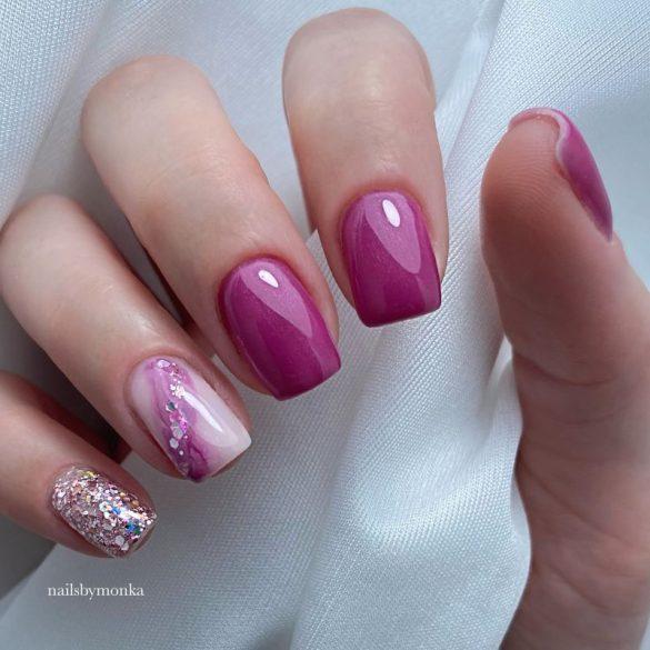 Gél Lakk 4ml -DN065 - Árvácska - Zselé lakk