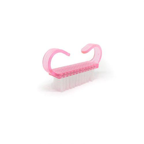 Színes portalanító kefe (kicsi) - pink