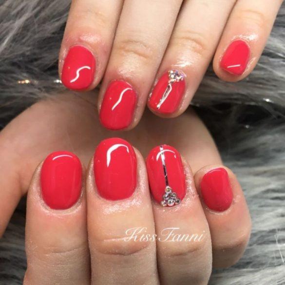 Gél Lakk - DN215 - Strawberry - Zselé lakk