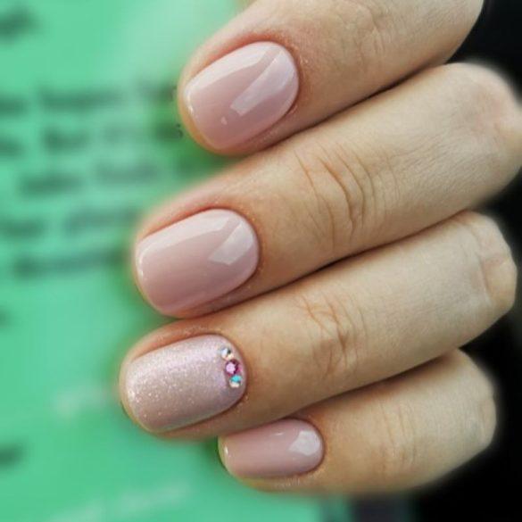 Zselé Lakk 4ml - DN033 - Világos rózsaszín