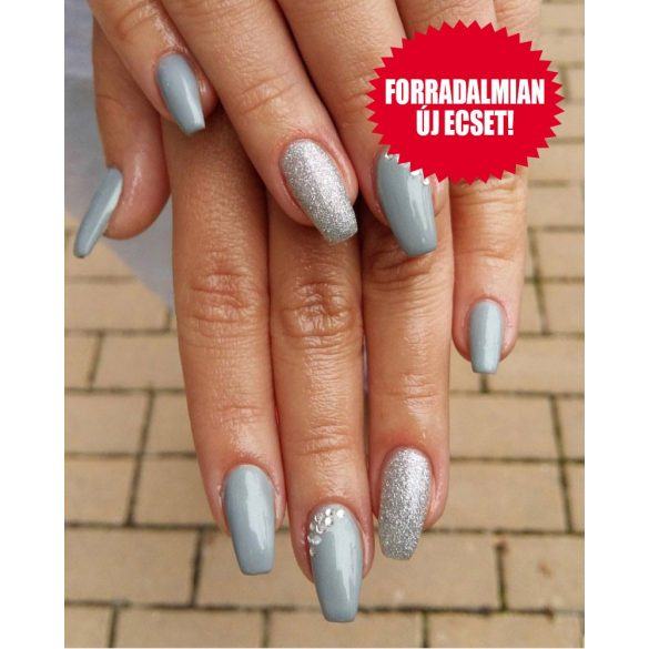 Zselé Lakk 4ml - DN057 - Gyöngyház ezüst