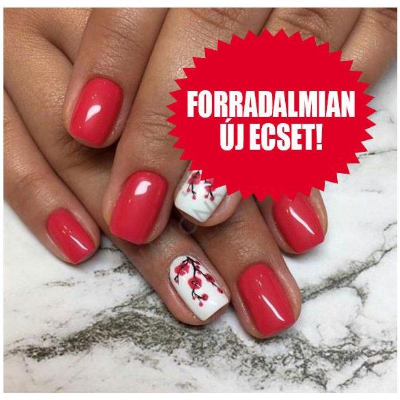 Zselé Lakk 4ml - DN067 - Sötét pink