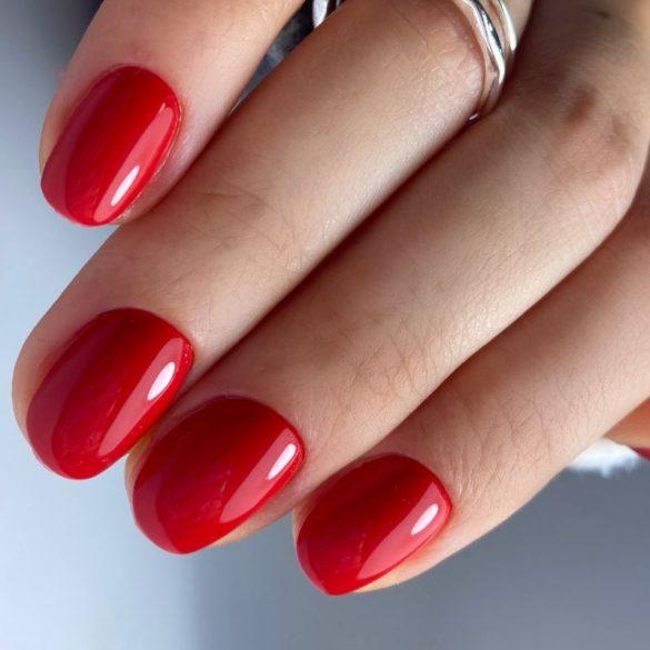 Gél Lakk 4ml -DN132 - Sötétpiros