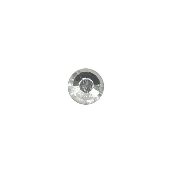 Ezüst kristály strasszkő SS3 100db