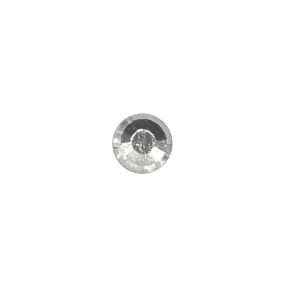 Ezüst kristály strasszkő SS5 100db