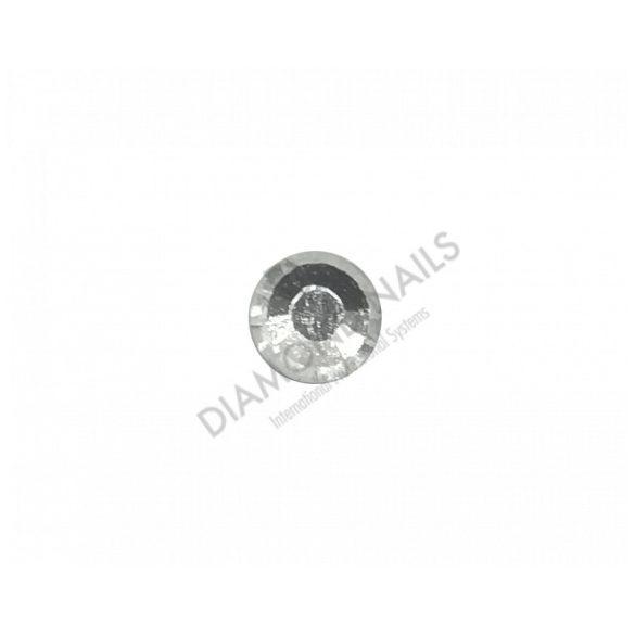 Ezüst kristály strasszkő SS10 100db