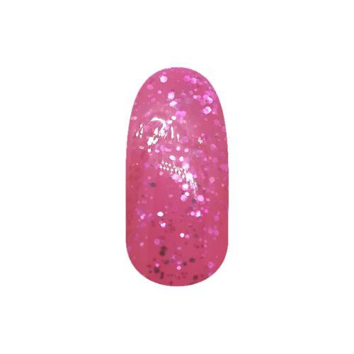 Gél Lakk - DN225 - Nagy csillámos rózsaszín - Zselé lakk
