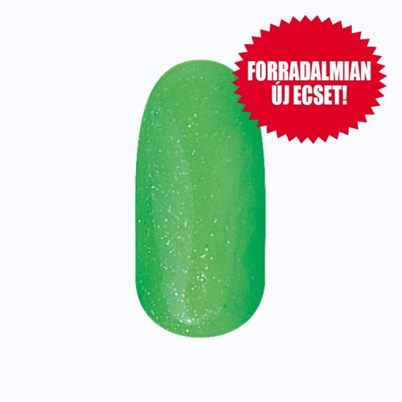 Zselé Lakk 4 ml DN194 - Csillámló kihúzófilc (zöld)
