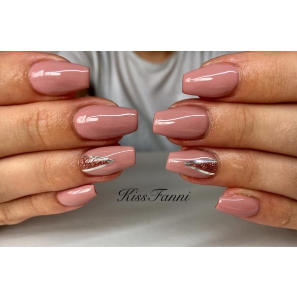 Gél Lakk 4ml -DN221 - ÚJ - Rózsaszín nude - Zselé lakk
