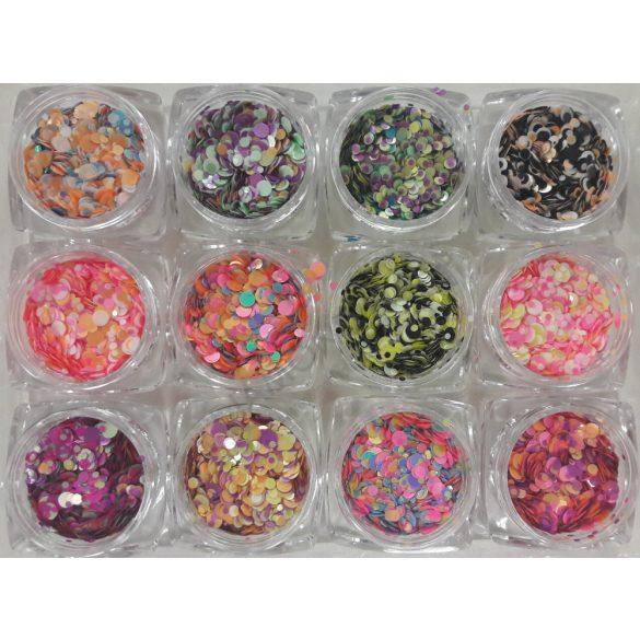 12db Rainbow konfetti #1