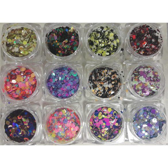 12db Rainbow konfetti #2