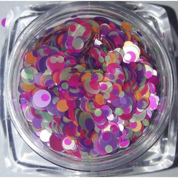 Rainbow konfetti #01